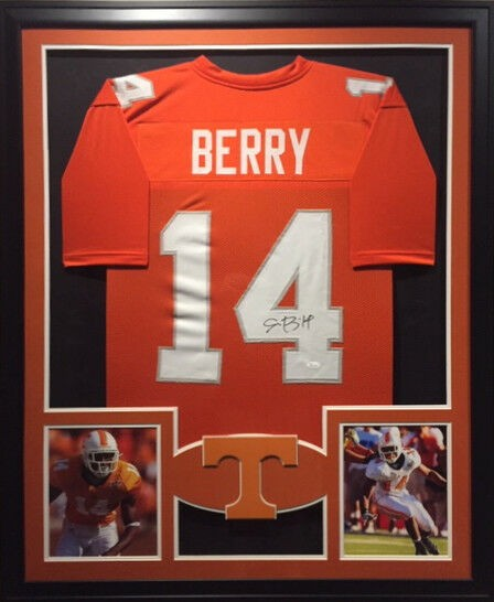 Eric Berry Autographed Signed Jersey JSA Autographed Tennessee ...