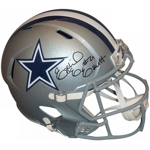 c626927e9 Ezekiel Elliott Autographed Signed Auto Dallas Cowboys Speed Deluxe ...