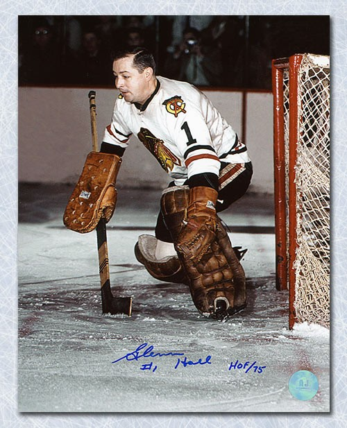 Glenn Hall Chicago Blackhawks Autographed Signed Game Action 8x10 Photo -  Certified Authentic 6624d5997