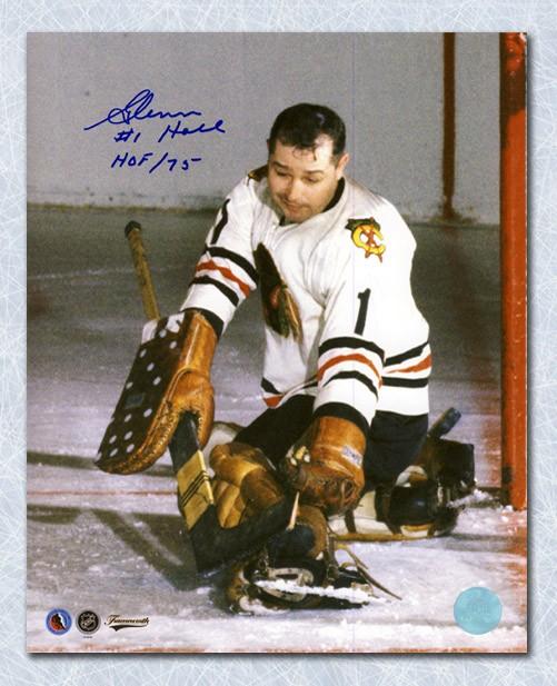 Glenn Hall Chicago Blackhawks Autographed Signed Goalie 8x10 Photo -  Certified Authentic c22a95de2