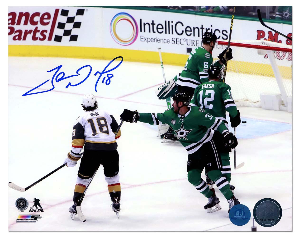James Neal Vegas Golden Knights Autographed Signed 1st Vegas Goal 8x10  Photo - Certified Authentic 1d7192d0c