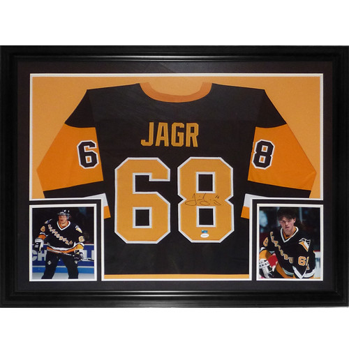 buy popular 7c6a1 88dc8 Jaromir Jagr Autographed Signed Auto Pittsburgh Penguins ...