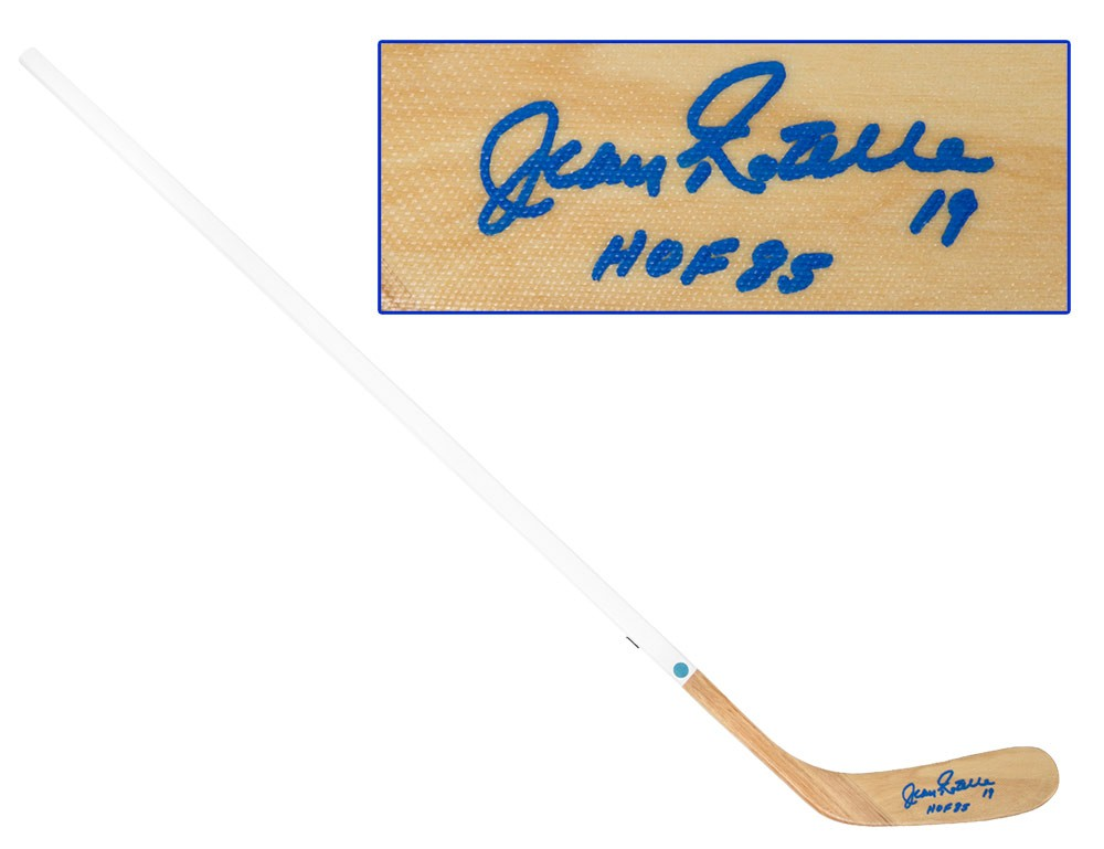 399c8619d Jean Ratelle Autographed Signed Wood Hockey Stick - New York Rangers -  Certified Authentic