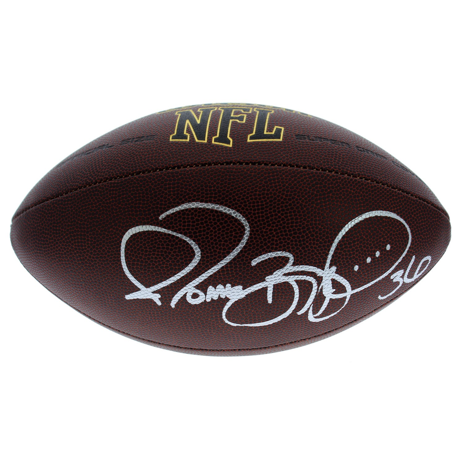 1f06478f8 Jerome Bettis Autographed Signed NFL Supergrip Football - PSA DNA Certified  Authentic