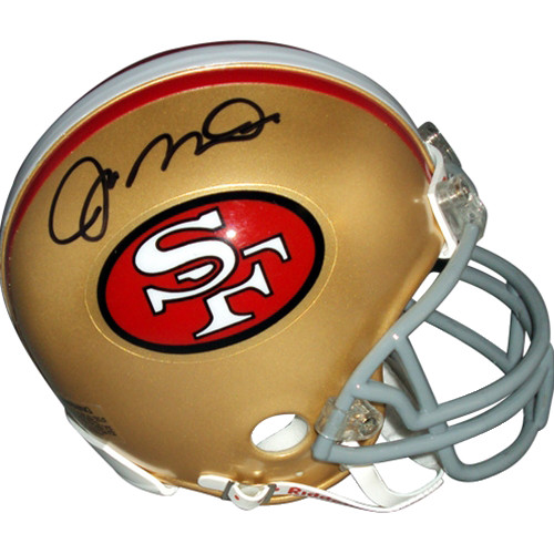 0ab9785dc50 Joe Montana Autographed Signed Auto San Francisco 49ers Mini Helmet -  Certified Authentic
