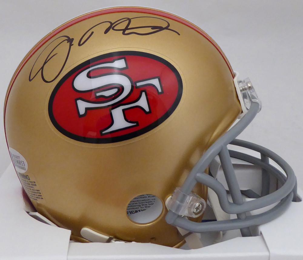 Joe Montana Autographed Signed San Francisco 49ers Mini Helmet - Beckett  Authentic e7da6d13e