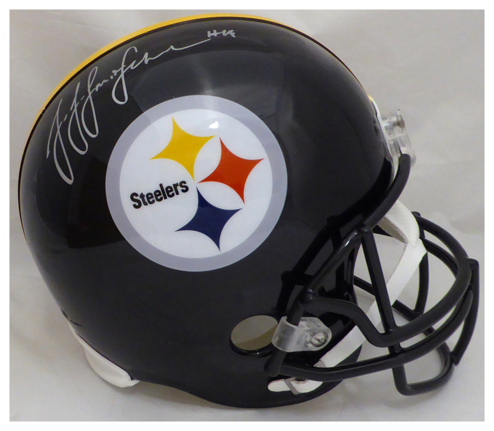 JuJu Smith-Schuster Autographed Signed Pittsburgh Steelers Full Size Helmet  - Beckett Authentic fef0ec2e8
