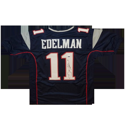 Julian Edelman Autographed Signed New England Patriots (Blue #11 ...