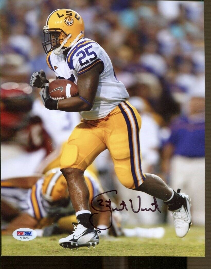 LSU Tigers Justin Vincent LSUs The 1 Sports Illustrated Autograph Replica Poster
