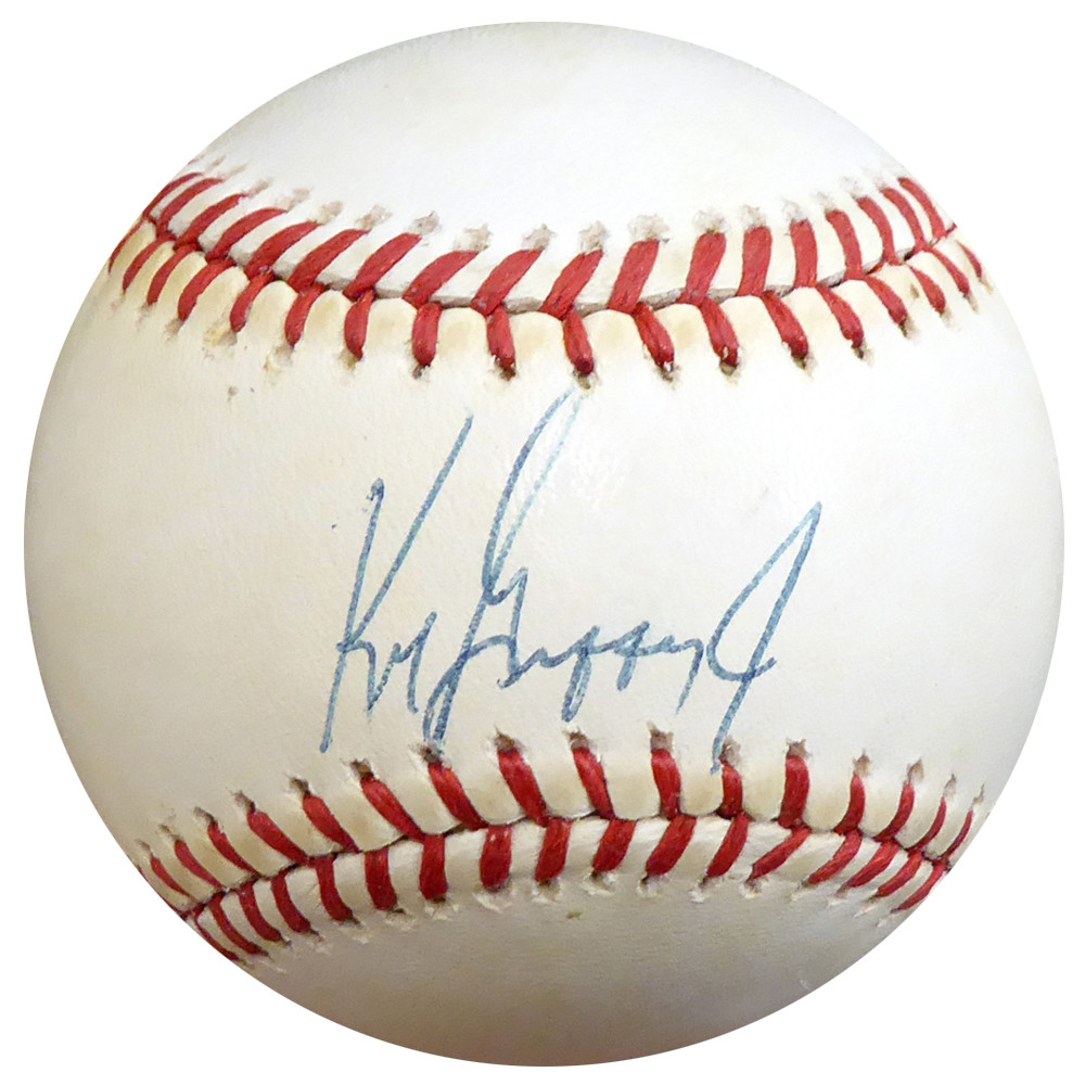 59708378b99 Ken Griffey Jr. Autographed Signed Auto Official AL Baseball Seattle  Mariners Vintage Rookie Era Signature - Beckett Certified