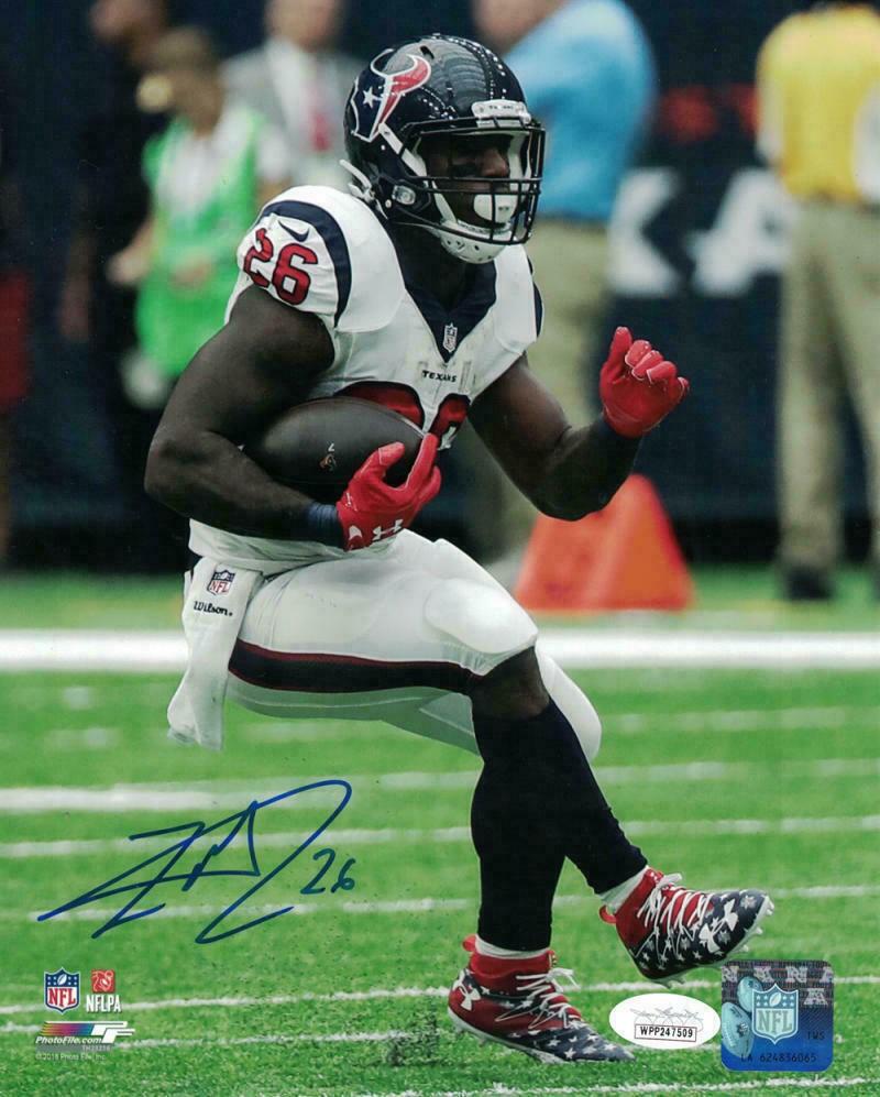 Lamar Miller Autographed Signed /Signed Houston Texans 8X10 Photo ...