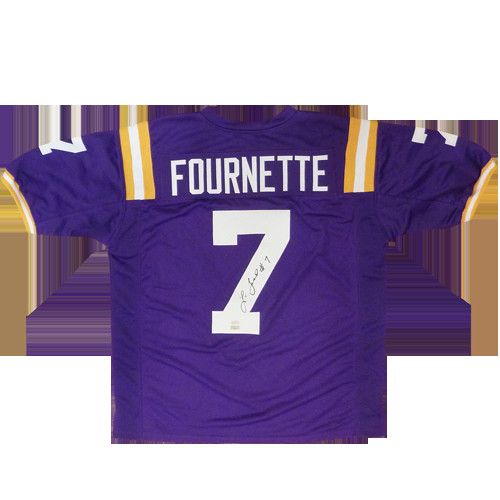 reputable site 0e276 62dc7 Leonard Fournette Autographed Signed Auto LSU Louisiana ...
