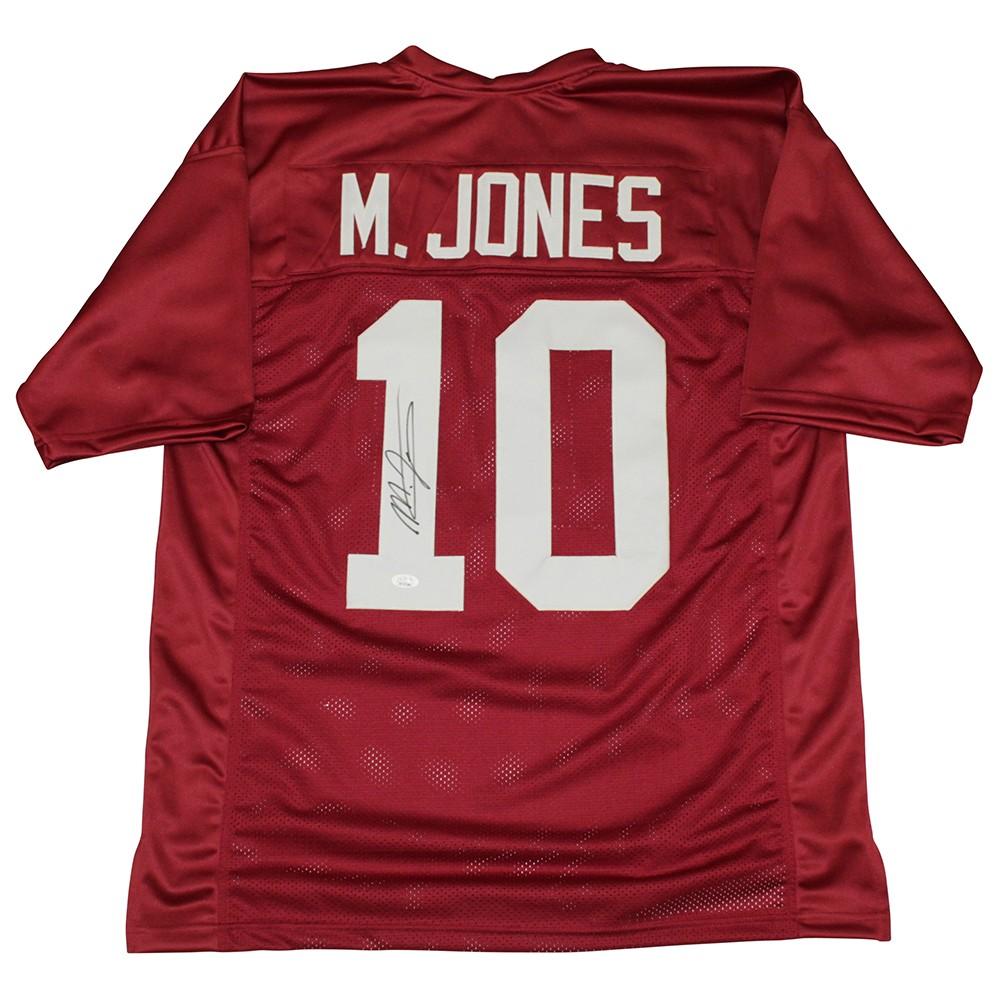 Mac Jones Autographed Signed Alabama Crimson Tide Jersey - Size XL ...