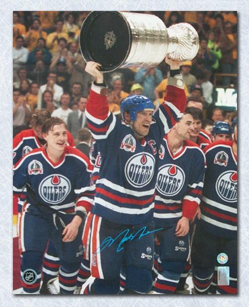 Mark Messier Edmonton Oilers Autographed Signed 1990 Stanley Cup  Autographed Signed 16x20 Photo - Certified Authentic 8e050ec2b