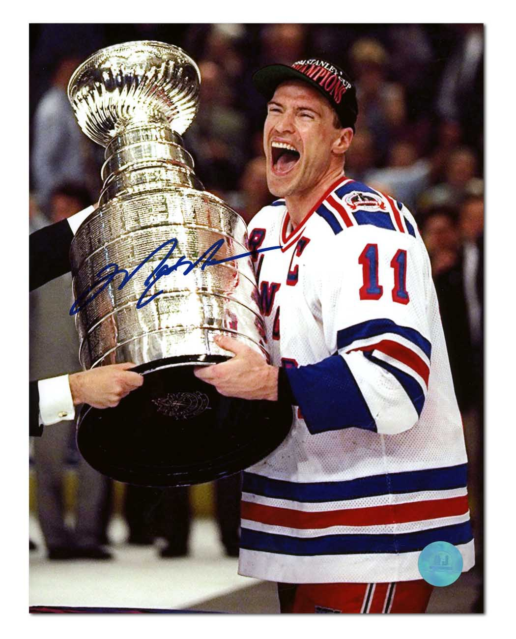 Mark Messier New York Rangers Autographed Signed 1994 Stanley Cup 8x10  Photo - Certified Authentic - Certified Authentic 1e4ebc5af