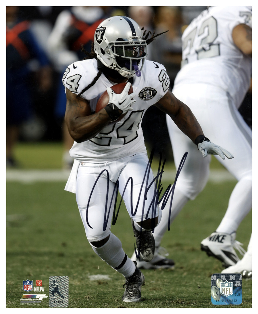 118856e5dab Marshawn Lynch Autographed Signed 8x10 Photo Oakland Raiders ML Holo ...