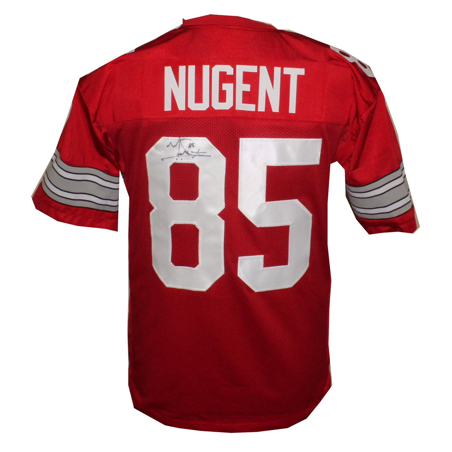 sports shoes fc8e5 7344b Mike Nugent Autographed Signed Ohio State Buckeyes Custom ...