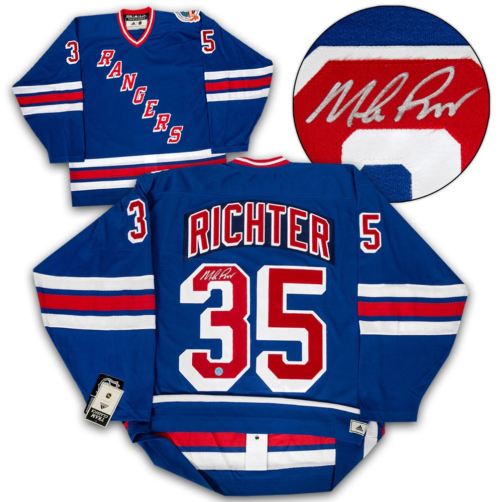 release date: e1767 08741 Mike Richter New York Rangers Autographed Signed 1994 ...