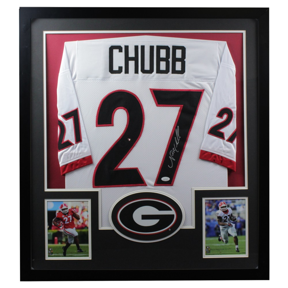 authentic nick chubb jersey