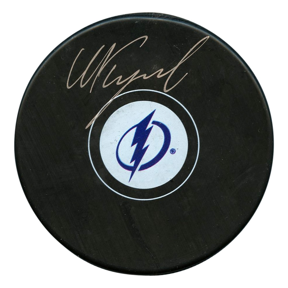 f53503d74 Nikita Kucherov Autographed Signed Tampa Bay Lightning Logo Puck - JSA  Authentic