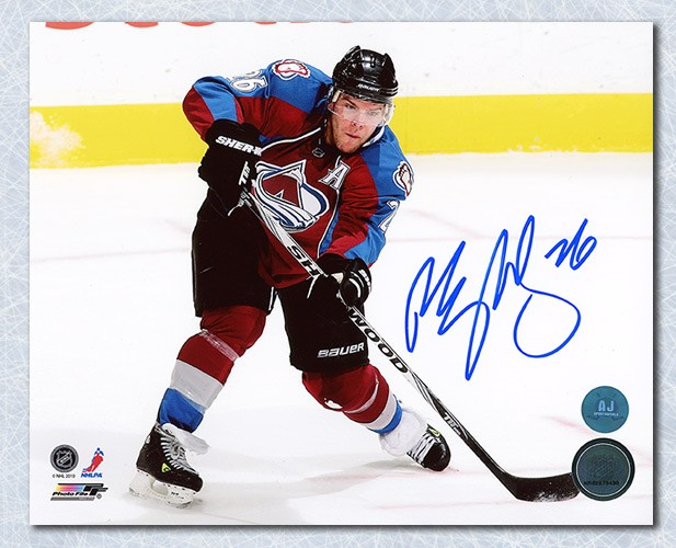 580c6c422 Paul Stastny Colorado Avalanche Autographed Signed Playmaker 8x10 Photo -  Certified Authentic