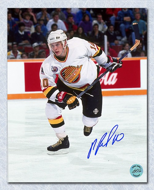 45f943a24 Pavel Bure Vancouver Canucks Autographed Signed Action 8x10 Photo -  Certified Authentic