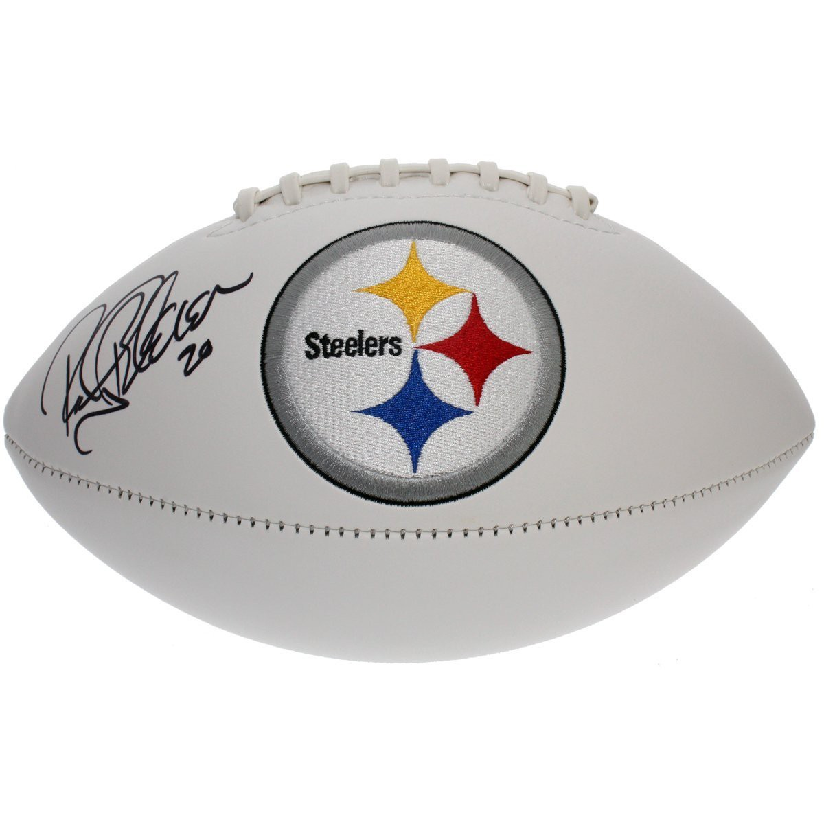 e64318b05 Rocky Bleier Autographed Signed Pittsburgh Steelers White Panel Football -  JSA Certified Authentic