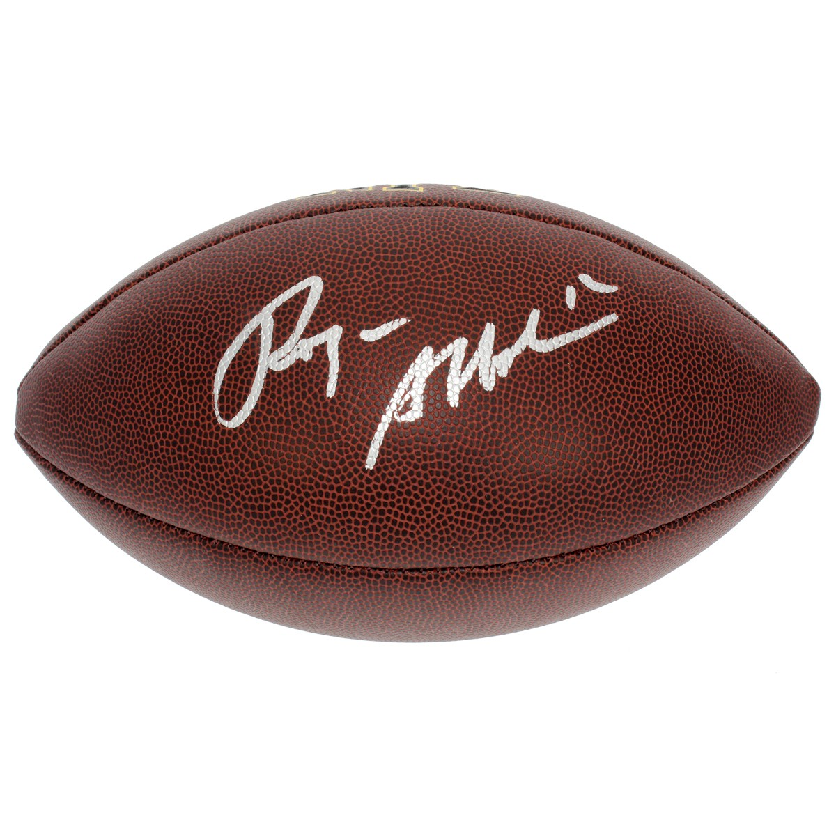 23bd4f823 Roger Staubach Dallas Cowboys Autographed Signed NFL Supergrip Football -  PSA DNA Certified Authentic