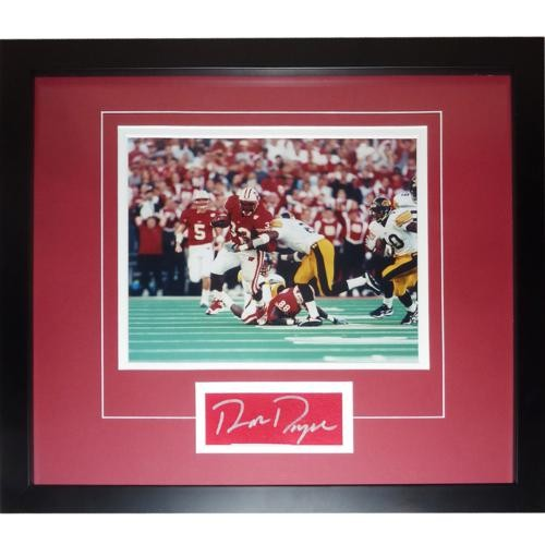 Ron Dayne Autographed Signed Auto Wisconsin Badgers Record
