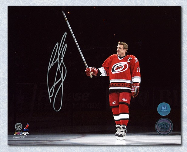 Ron Francis Carolina Hurricanes Autographed Signed Jersey Retirement 8x10  Photo - Certified Authentic 5a84ac74d