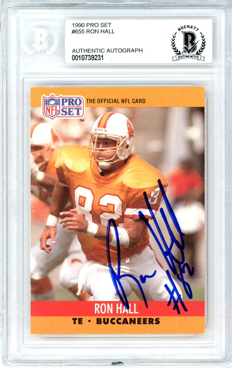 buy online 4752a 8f468 Ron Hall Autographed Signed 1990 Pro Set Card Autographed ...