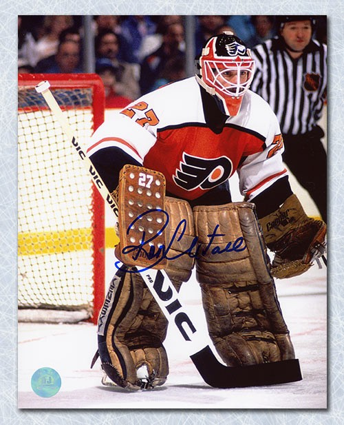 a9efad9f0 Ron Hextall Philadelphia Flyers Autographed Signed In Goal 8x10 Photo -  Certified Authentic