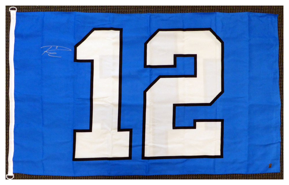new style 1b76f c1807 Russell Wilson Autographed Signed Seattle Seahawks 12th Man ...