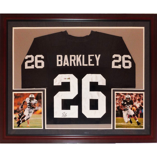 release date 4781c bccb4 Saquon Barkley Autographed Signed Auto Penn State Nittany ...