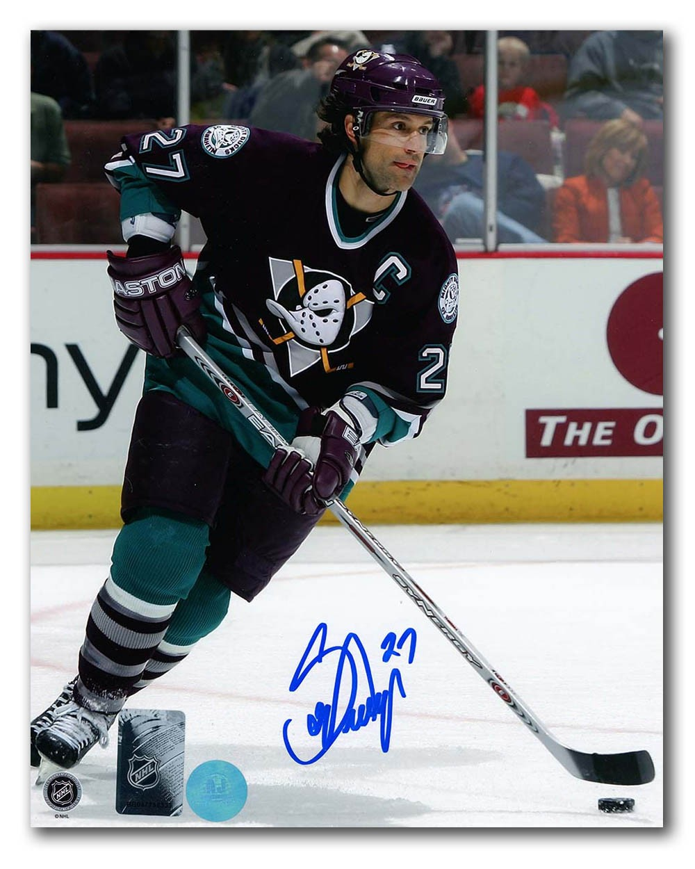 cheap for discount 7e935 d1045 Scott Niedermayer Anaheim Mighty Ducks Autographed Signed ...