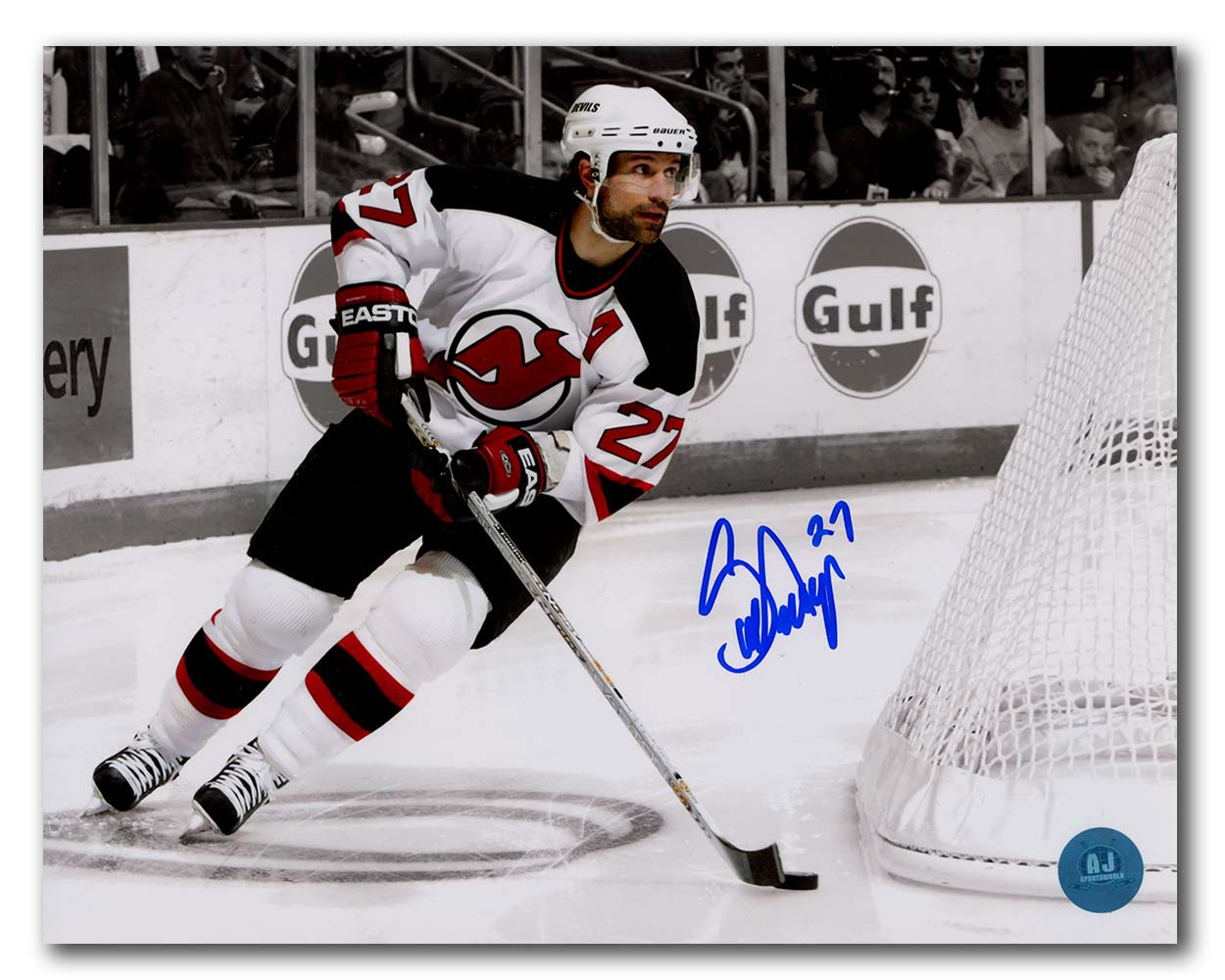 Scott Niedermayer New Jersey Devils Autographed Signed Metallic Spotlight  8x10 Photo - Certified Authentic f96d00afd