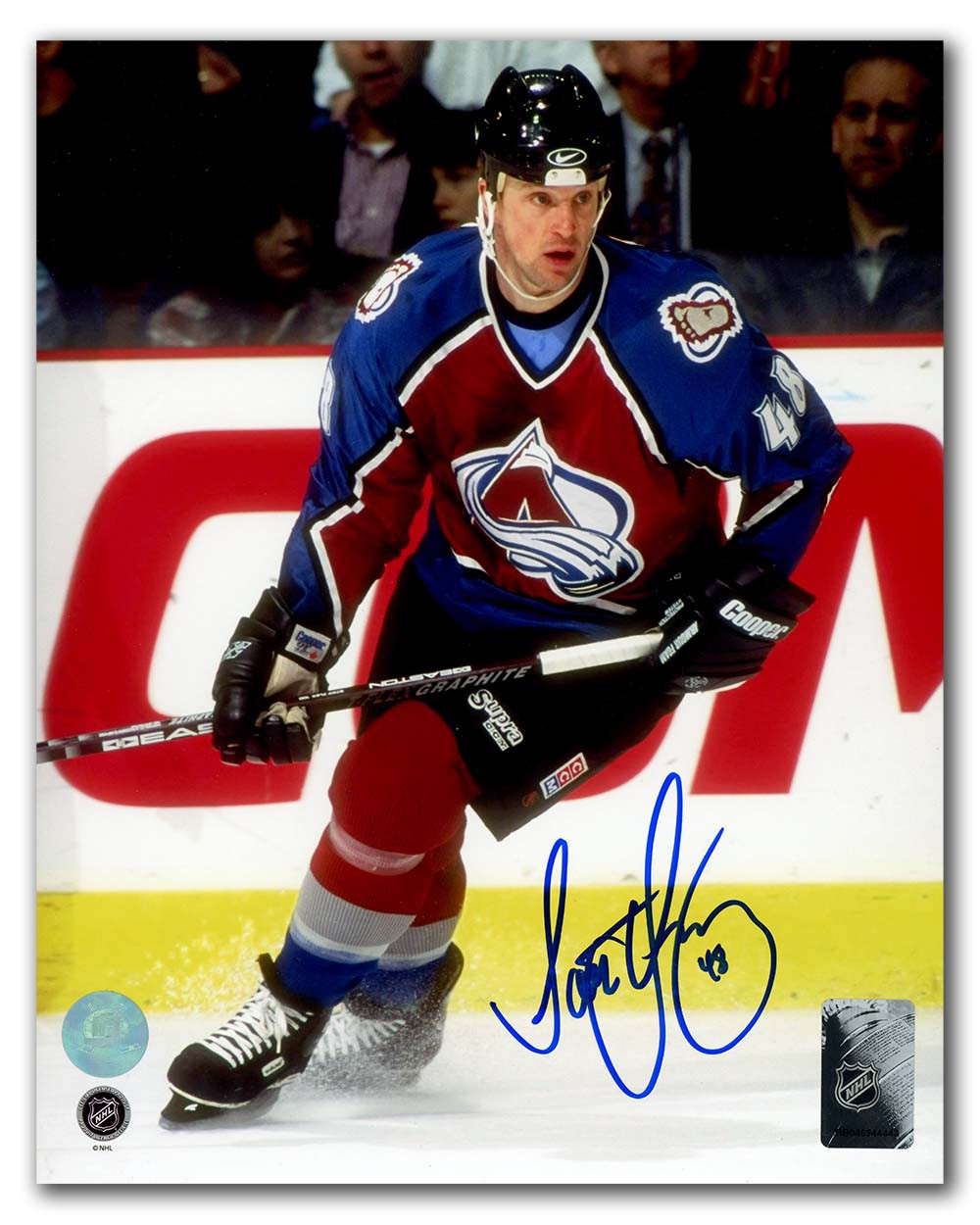 b0c35834c Scott Young Colorado Avalanche Autographed Signed 8x10 Photo ...