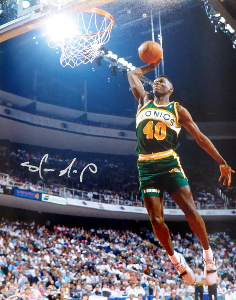 ca9023b7ec9b1 Shawn Kemp Autographed Signed 16x20 Photo Seattle Sonics - Certified ...