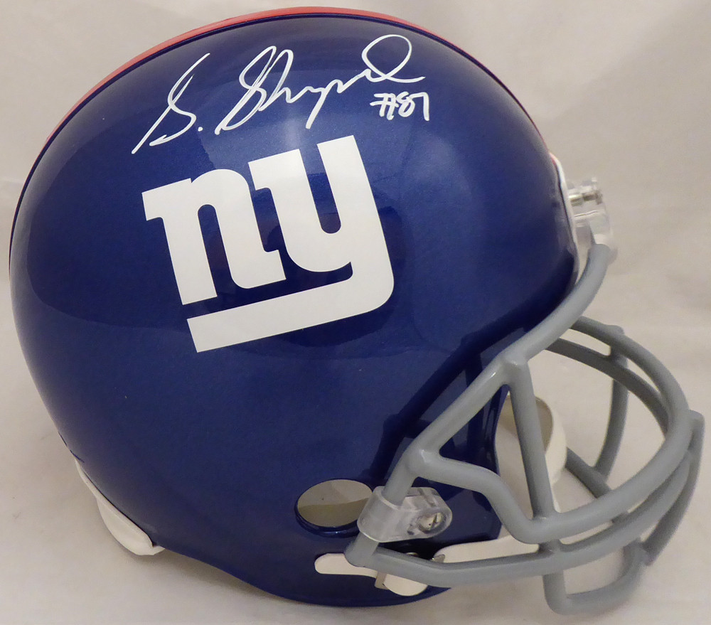 62f4ac4d Sterling Shepard Autographed Signed New York Giants Full Size ...