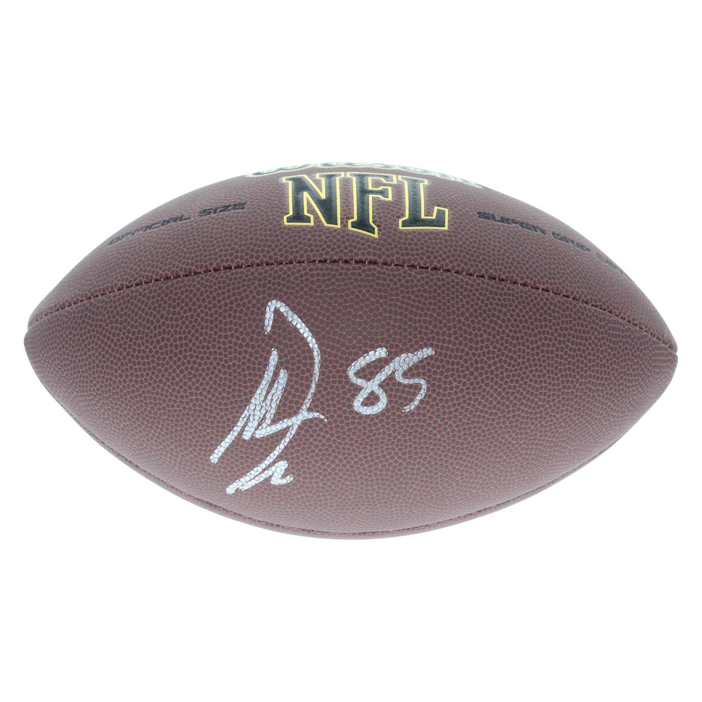 Vernon Davis Washington Redskins Autographed Signed Wilson NFL Super Grip  Football - Certified Authentic 846b0d414