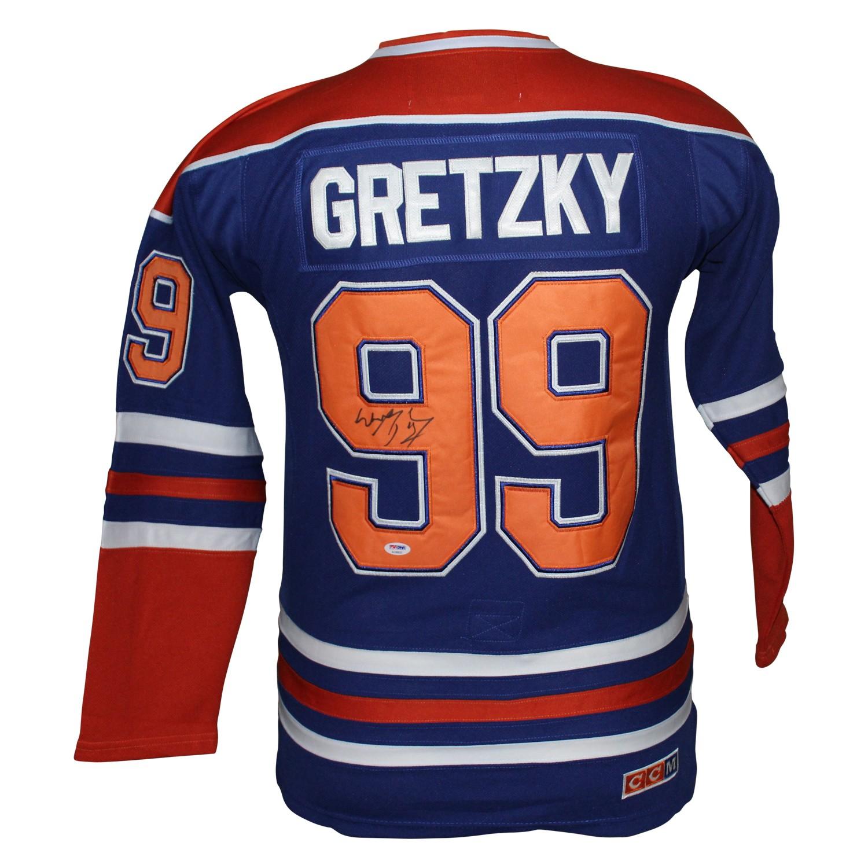 the best attitude e5952 59447 Wayne Gretzky Edmonton Oilers Autographed Signed CCM Jersey ...