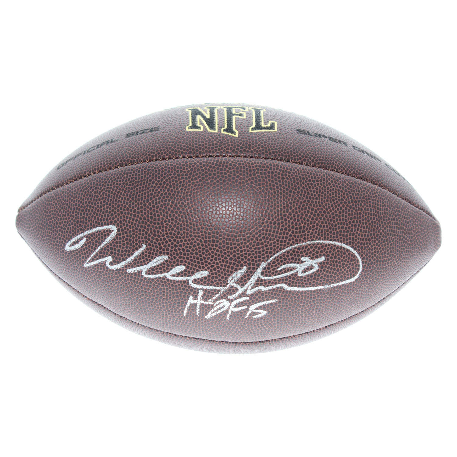 Will Shields Kansas City Chiefs Autographed Signed Wilson NFL Super Grip  Football - Certified Authentic d6adf29f8