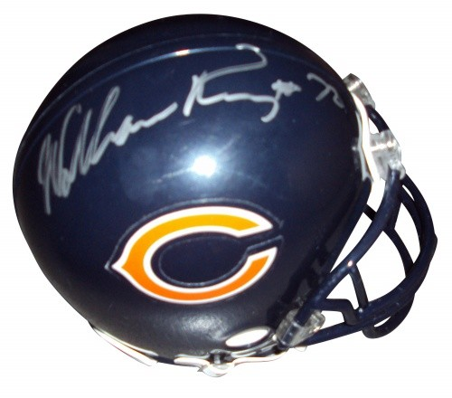 best sneakers 0280f cf4eb William Perry Autographed Signed Auto Chicago Bears Mini ...