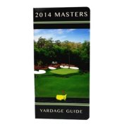 2014 Masters Golf Yardage Guide