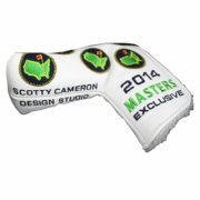 2014 Masters Scotty Cameron Putter Cover (White Leather)