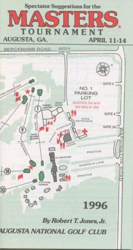 1996 Spectator Guide - Winner Nick Faldo