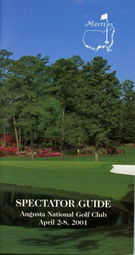 2001 Spectator Guide - Winner Tiger Woods