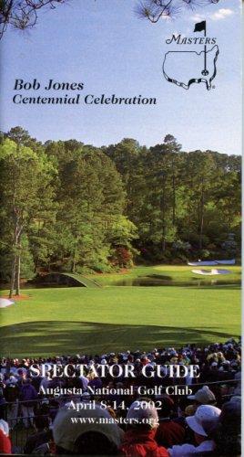 2002 Spectator Guide - Winner Tiger Woods