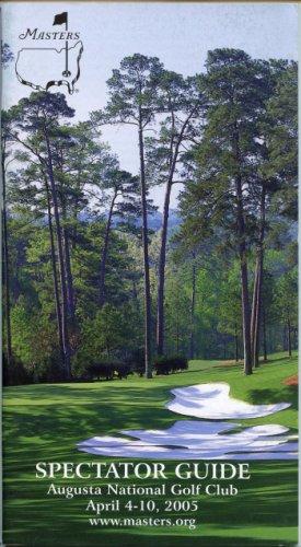 2005 Spectator Guide - Winner Tiger Woods