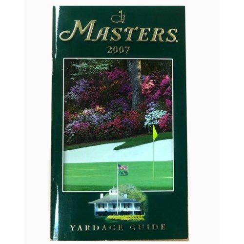 2007 Masters Yardage Guide